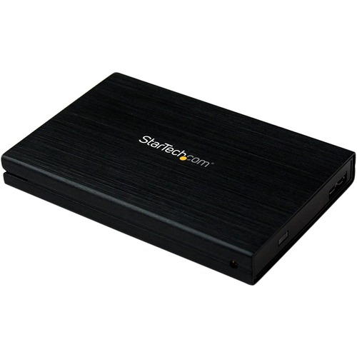 """StarTech.com 2.5"""" Hard Drive Enclosure - Supports UASP - SATA 6Gbps - USB 3.0 External Hard Drive Enclosure - SSD/HDD Encl"""