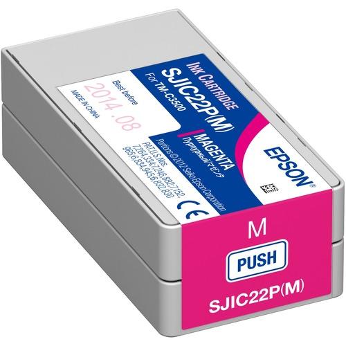 Epson SJIC22P(M) Original Ink Cartridge - Magenta - Inkjet - 1 Pack