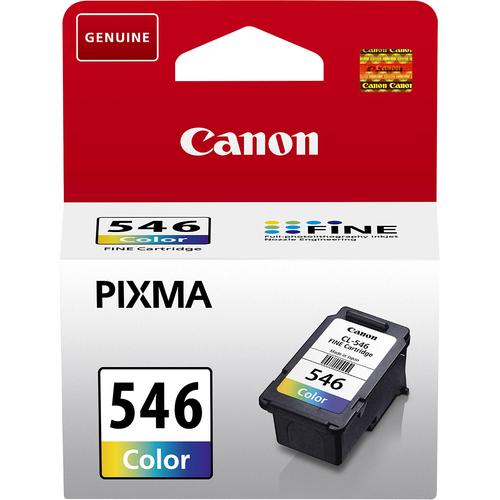 Cartucho de tinta Canon CL-546 - Cián, Magenta, Amarillo Original - Tinta - 180 Páginas - 1 Solamente