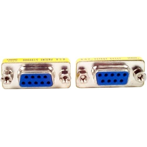 StarTech.com Slimline GC9SF Data Transfer Adapter - 1 x DB-9 Female - 1 x DB-9 Female
