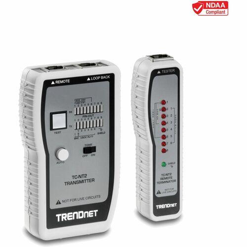 Analizzatore Cavo TRENDnet TC-NT2 - Finoa 0,30 km Misura lunghezza