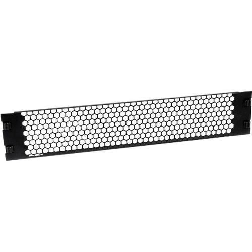 StarTech.com 2U Tool-Less Vented Blank Rack Panel - Steel - Black - 2U Rack Height - 1 Pack - 88.9 mm Height - 482.6 mm Wi