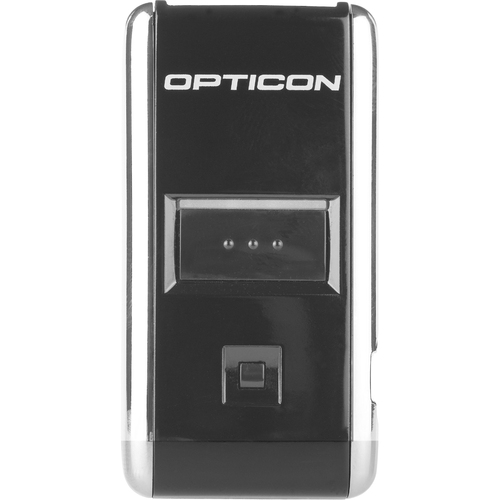 Opticon OPN-2006 Handheld Barcode Scanner - Wireless Connectivity - Black - USB Cable Included - 100 scan/s - 1D - Laser -