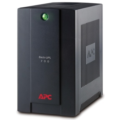 SAI de línea interactiva APC by Schneider Electric Back-UPS - 700 VA/390 W - Torre - 6 Hora(s) Tiempo de Recarga de Baterí