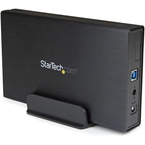 """StarTech.com Box externo USB 3.1 ad 1 alloggiamento da 3,5"""" SATA III - Interfacce hot swap - 1 x Disco rigido supportato -"""