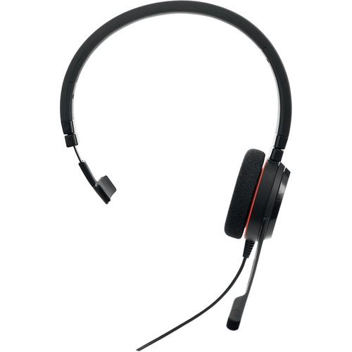 Cuffie Jabra EVOLVE 20 Cavo Over-the-head Mono - Monoaurale - Supra-aural - Cancellazione del rumore Microfono - Noise Can