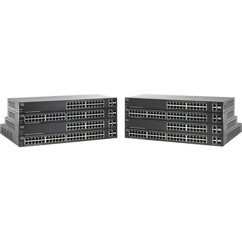 Switch 24 Puertos Capa 2 administrable Basico SG220-26 - 10/100/1000 Gigabit Ethernet con una potencia máxima de 30 W por