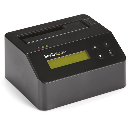 """StarTech.com USB 3.0 Standalone Eraser Dock for 2.5"""" and 3.5"""" SATA SSD/HDD Drives - Secure Drive Erase with Receipt Printi"""