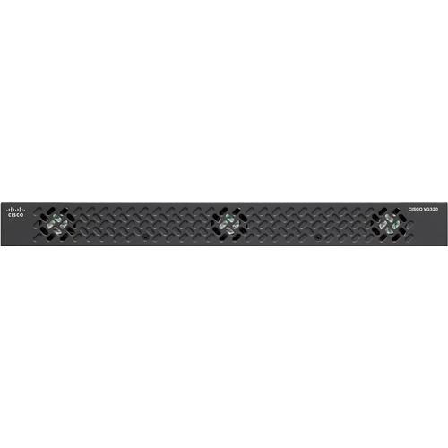VoIP Gateway Cisco VG320 - 2 x RJ-45 - USB - Gestione porta - Gigabit Ethernet - 1 x Slot espansione