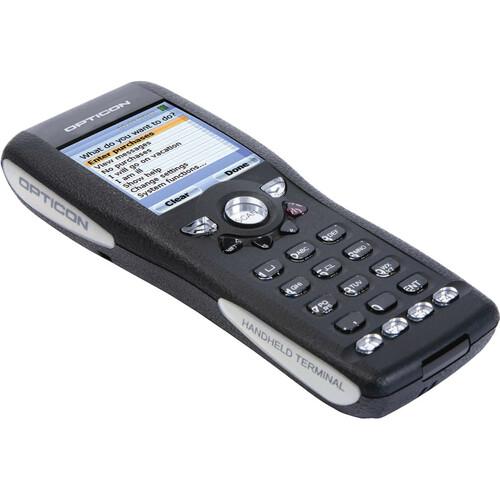 "Opticon OPH1005 Handheld Terminal - Laser Light Source - 5.1 cm (2"") - LCD - QVGA - 320 x 240 - 4 MB RAM / 128 MB Flash -"