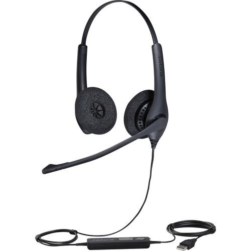 Cuffie Jabra BIZ 1500 Cavo Over-the-head Stereo - Binaural - Supra-aural - 32 Ohm - 20 Hz a 6,80 kHz - 230 cm Cavo - Noise