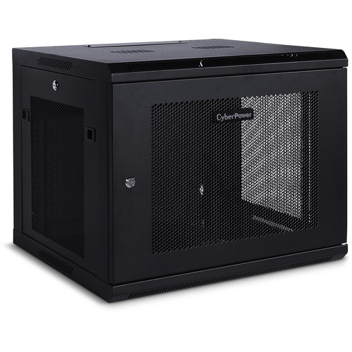 "CyberPower EIA-310 Standard 19"" Rack - For LAN Switch, Patch Panel - 9U Rack Height x 19"" (482.60 mm) Rack Width x 22"" (55"