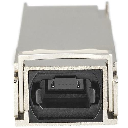 StarTech.com Módulo Transceptor QSFP+ Compatible con Cisco QSFP-40G-SR4 - 40GBASE-SR4 - Para Redes de datos, Redes Ópticas