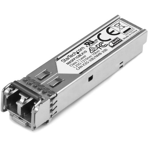 StarTech.com Cisco MA-SFP-1GB-LX10 - Cisco Gigabit SFP - Cisco Compatible SFP - Cisco 1000base-LX SFP Module - Singlemode