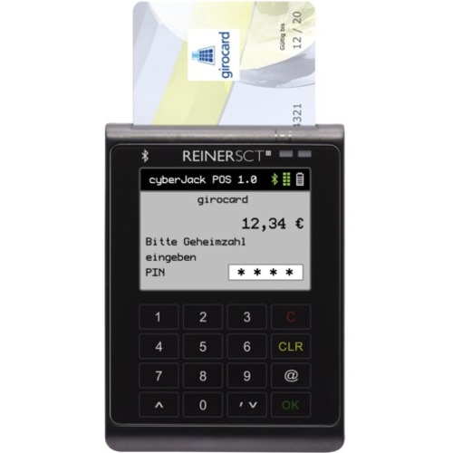 Reinersct cyberJack POS Payment Terminal (Warning!: This product is not supporting the reading of Hungarian e-identity car