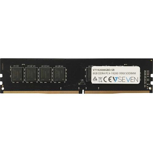 Módulo RAM V7 - 8 GB (1 x 8GB) - DDR4-2400/PC4-19200 DDR4 SDRAM - 2400 MHz - CL17 - 1,20 V - No-ECC - Sin búfer - 288-pin