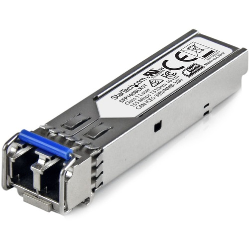 StarTech.com MSA Uncoded SFP Module - 100BASE-LX - 100Mb Ethernet SFP 100MbE Single Mode Fiber (SMF) Optic Transceiver Mod