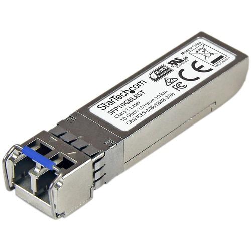 StarTech.com MSA Uncoded SFP+ Module - 10GBASE-LR - 10GE Gigabit Ethernet SFP+ 10GbE Single Mode Fiber (SMF) Optic Transce