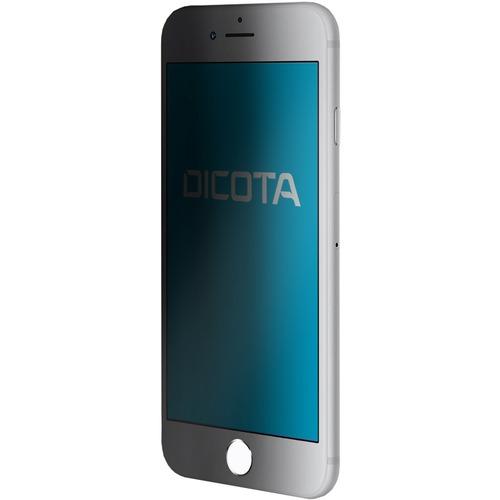 "Dicota Secret Silicone, Polyethylene Terephthalate (PET) Privacy Screen Filter - Transparent, Black - For 11.9 cm (4.7"") L"