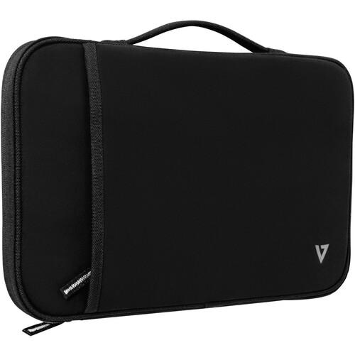 """V7 Funda para portátiles de 12,2"""". Tipo de funda: Funda, Tamaño máximo de pantalla: 31 cm (12.2""""), Número de compartimento"""