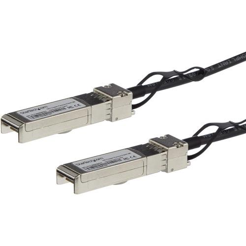 StarTech.com 0.5m 10G SFP+ to SFP+ Direct Attach Cable for Cisco SFP-H10GB-CU0-5M 10GbE SFP+ Copper DAC 10Gbps Passive Twi