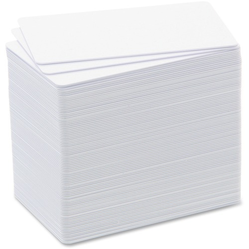 Badgy Printable Multipurpose Card - CR-80 - 85.60 mm x 53.98 mm - 100
