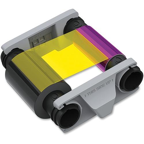 Badgy Ribbon - YMCKO - Dye Sublimation - 100 Cards - 1 / Each