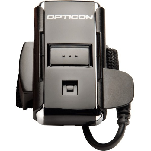 Opticon RS-2006 Wearable Barcode Scanner Kit - Wireless Connectivity - Black - 100 scan/s - 1D - Laser - Bluetooth