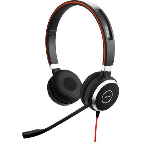 Cuffie Jabra EVOLVE 40 UC Cavo Over-the-head Stereo - Binaural - Supra-aural - Noise Canceling - USB Tipo C