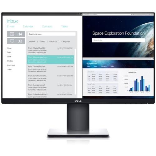 "Dell P2319H 58.4 cm (23"") Full HD Edge LED LCD Monitor - 16:9 - Black - 584.20 mm Class - 1920 x 1080 - 16.7 Million Colou"