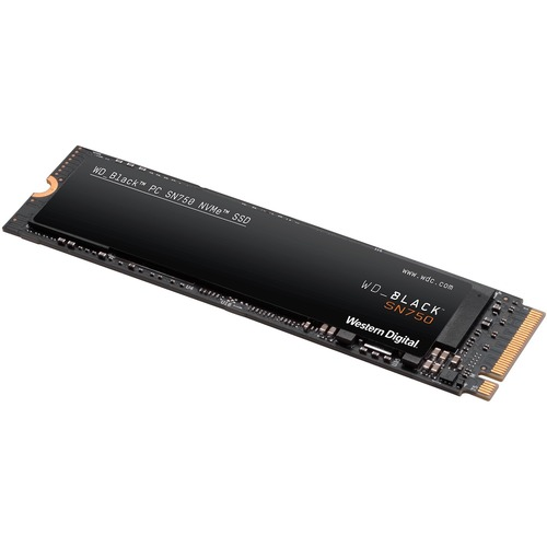 WD Black SN750 WDS100T3X0C 1 TB Solid State Drive - M.2 2280 Internal - PCI Express (PCI Express 3.0 x4) - 600 TB TBW - 34