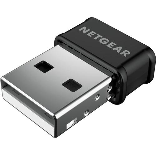 Netgear A6150 IEEE 802.11ac Wi-Fi Adapter - USB 2.0 - 1.17 Gbit/s - 2.40 GHz ISM - 5 GHz UNII - External