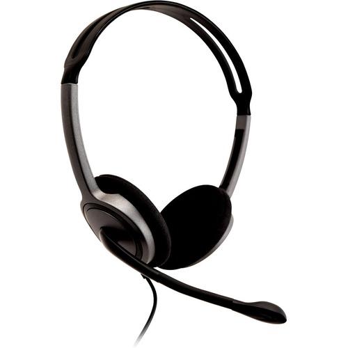 V7 HA212-2EP Wired Over-the-head, On-ear Stereo Headset - Black - Binaural - Supra-aural - 32 Ohm - 20 Hz to 20 kHz - 180