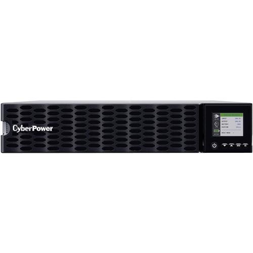 CyberPower OL5KRTHD Smart App Online UPS Systems - 200 - 240 VAC, Hardwire Terminal (NEMA L6-30P power cord included), 2U,