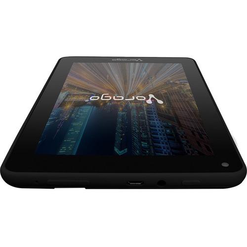 "Vorago Tablet Pad-7-V5 7""Android 8.1 Quadcore 1GB 16GB Dualcam Wifi BT Gms Negro - Rockchip SoC microSD Soportado - 1024 x"