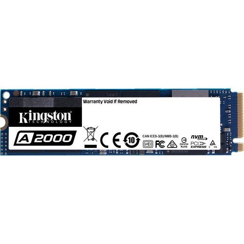 Unidad de estado sólido Kingston A2000 - M.2 2280 Interno - 250GB - PCI Express (PCI Express 3.0 x4) - Portátil, Computado