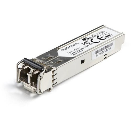 StarTech.com CTPSFP1GESXS SFP (mini-GBIC) - 1 x LC 1000Base-SX Network - For Optical Network, Data Networking - Optical Fi