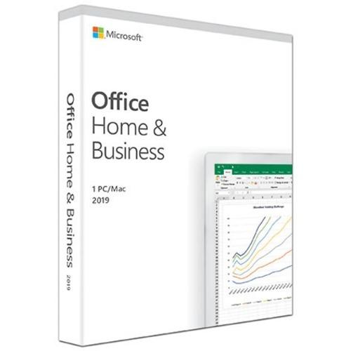 Microsoft Office 2019 Home & Business - Box Pack - 1 PC/Mac - Medialess - English - PC, Intel-based Mac