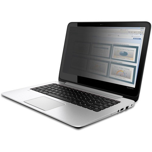 """V7 PS140W9 Anti-glare Privacy Screen Filter - Glossy - TAA Compliant - For 35.6 cm (14"""") Widescreen LCD Notebook - 16:9 -"""