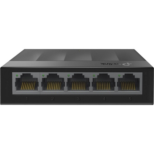 TP-Link LiteWave LS1005G 5 Ports Ethernet Switch - 2 Layer Supported - Twisted Pair - Desktop