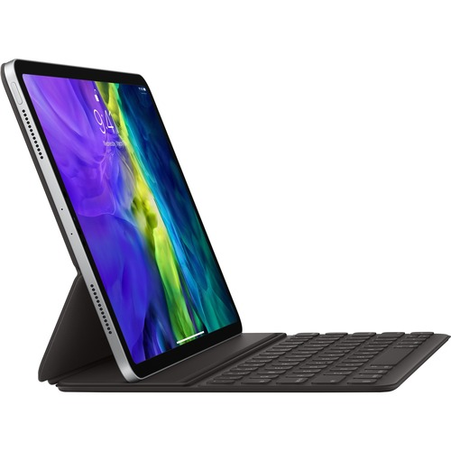 "Apple Smart Keyboard Folio Keyboard/Cover Case (Folio) for 27.9 cm (11"") Apple iPad Pro Tablet - Black - Polyurethane"