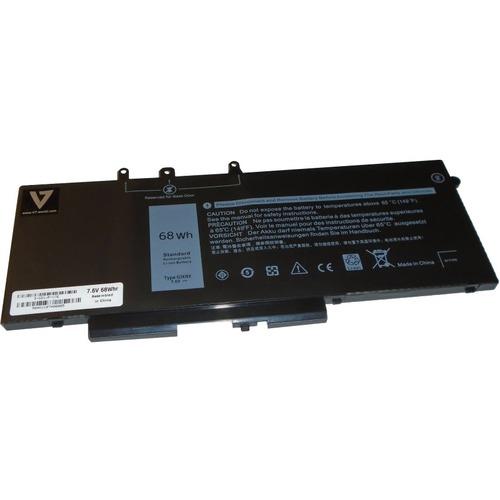 V7 D-GD1JP-V7E Battery - Lithium Ion (Li-Ion) - For Notebook - Battery Rechargeable - 7.60 V - 8560 mAh - 68 Wh