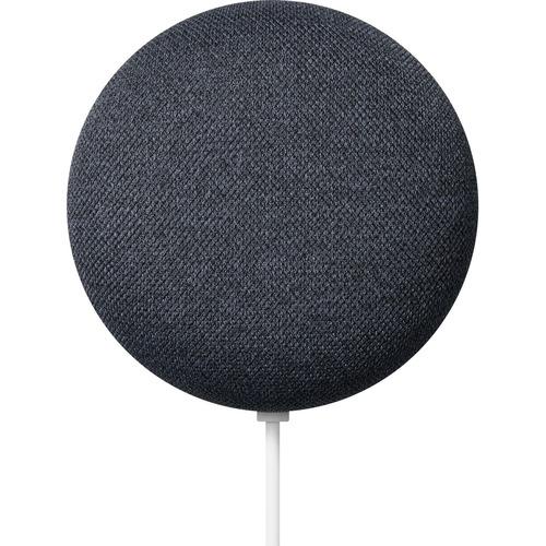 Smart Speaker Google Nest Mini GA00781-ES Bluetooth - Carbone - Parato montabile - 360° Circle Sound - LAN wireless