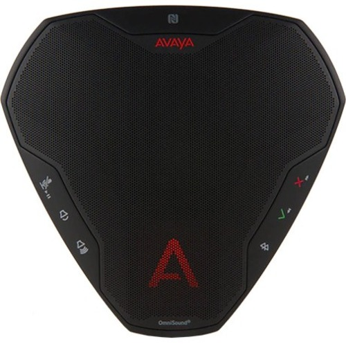 Avaya B109 Speakerphone - Black - USB - Microphone - Battery - Portable - 1 Pack