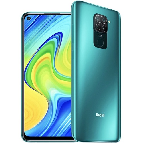 """Redmi Note 9 64 GB Smartphone - 16.6 cm (6.5"""") LCD Full HD Plus 2340 x 1080 - 3 GB RAM - Android 10 - 4G - Forest Green -"""