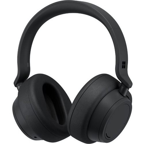 Microsoft Wired/Wireless Over-the-head Stereo Headset - Nordic Black - Binaural - Circumaural - Bluetooth - 20 Hz to 20 kH