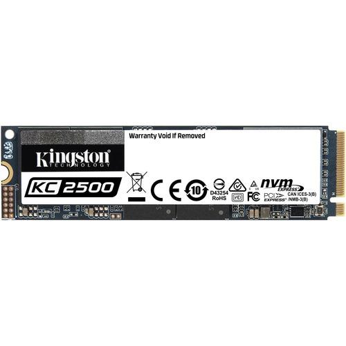 Kingston KC2500 250 GB Solid State Drive - M.2 2280 Internal - PCI Express NVMe (PCI Express NVMe 3.0 x4) - Desktop PC, Wo