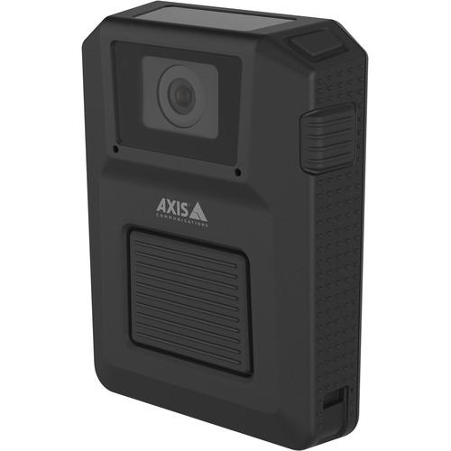 "AXIS W100 Digital Camcorder - 1/2.9"" RGB CMOS - Full HD - 16:9 - H.264, MPEG-4 Part 10/AVC - USB - GPS - Wireless LAN - Cl"