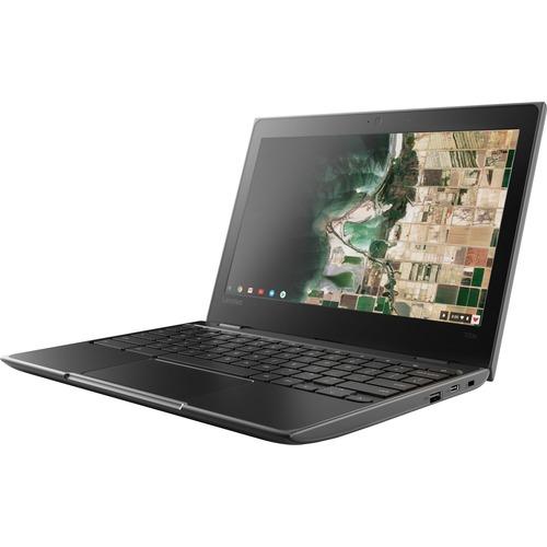 "Chromebook - Lenovo 100e Chromebook 2nd Gen 81MA000UIX 29,5 cm (11,6"") - HD - 1366 x 768 - Intel Celeron N4020 Dual core ("