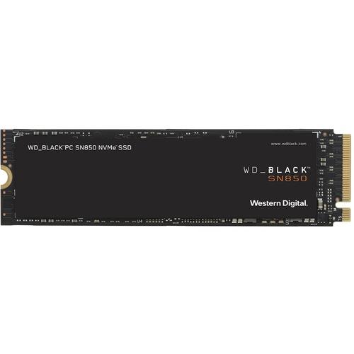 WD Black SN850 WDS100T1X0E 1 TB Solid State Drive - M.2 2280 Internal - PCI Express NVMe (PCI Express 4.0 x4) - Desktop PC
